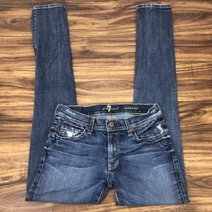 7 for all mankind Roxanne jean  size 28